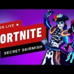 Fortnite Secret Skirmish (Day 2 – Solos) – IGN Live