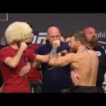 UFC 229: Khabib vs McGregor Weigh-in Faceoff