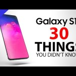 Samsung Galaxy S10 – 30 Things You Didn't Know!