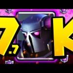 7,700+ TROPHY PEKKA DECK | SO MANY TROPHIES!
