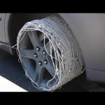 Driving On 200 Apple Chargers Instead of Rubber Tires – Will it Drive?