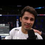 UFC 236: Alexandre Pantoja Octagon Interview