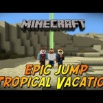 Minecraft Epic Jump Tropical Vacation Part 1 – كوكو ؟