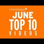 CreativeStation Top 10 June 2016