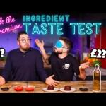 Blind Tasting PREMIUM Ingredients vs BUDGET Ingredients | Where Best to Spend Your Money?