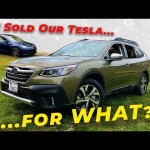 *Garage UPDATE* We Traded Our Tesla Model 3 for… A Subaru Outback?!