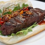 """Steakage"" Ultimate Steak Sandwich for the Super Bowl Tailgate"