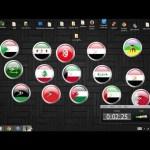 هدية : ساعات لسطح المكتب بجميع أعلام الدول العربية من صنعي