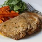 Slow Cooker Cider Braised Pork Roast Recipe