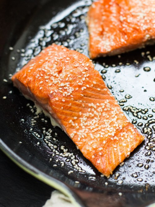 Sesame Salmon - Gluten-Free Dinner Recipes