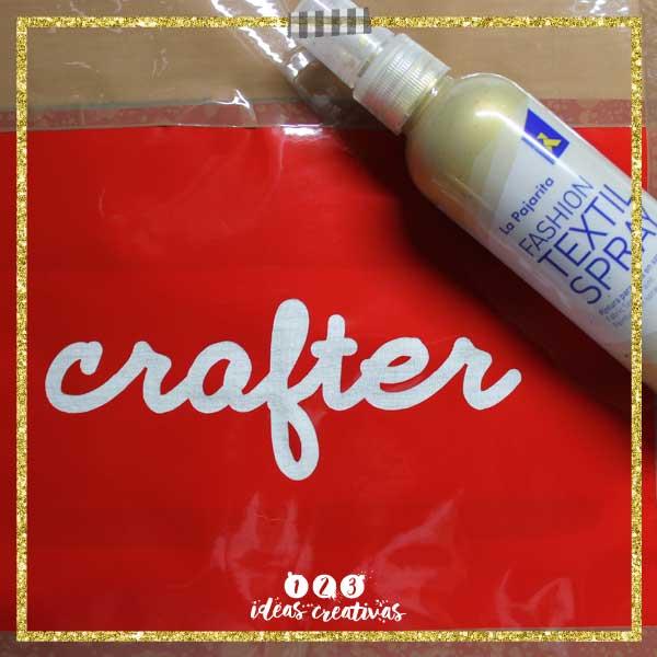 Pinturas textiles La Pajarita te inicia en el mundo Crafter