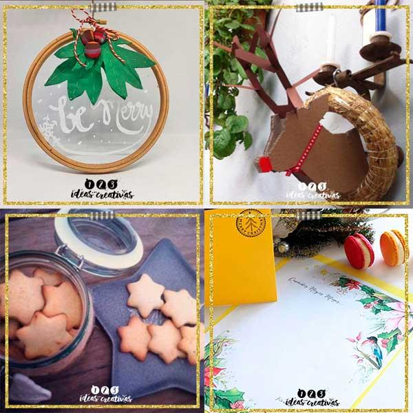 3 ideas creativas para decorar en navidad