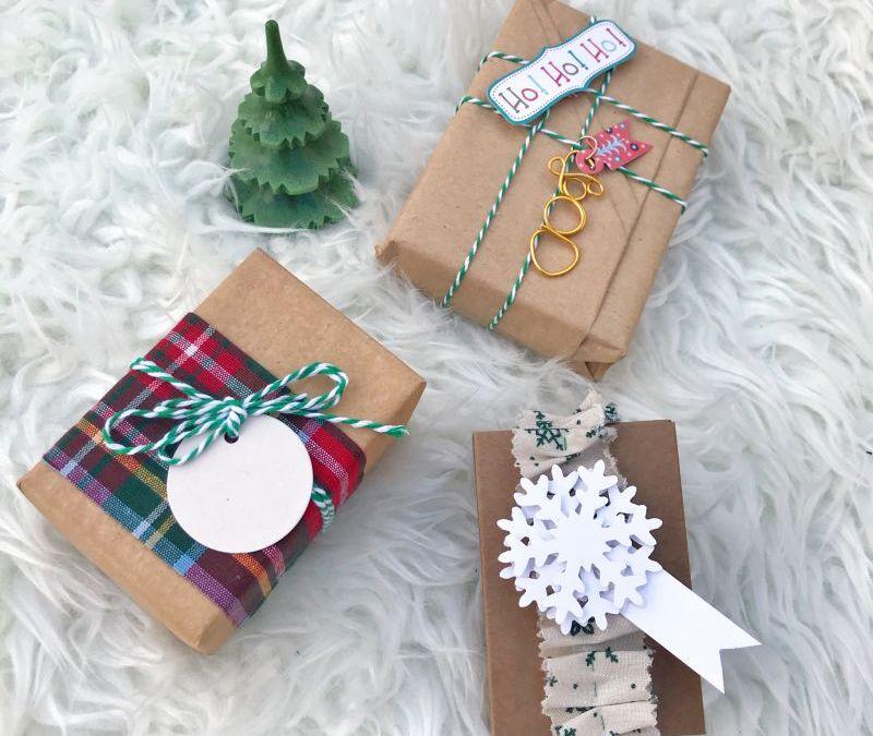Envolver bonito para Navidad