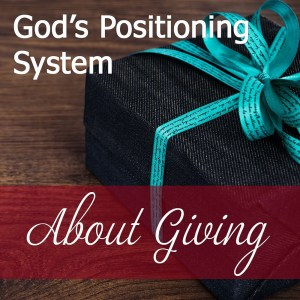 Devotional About Giving