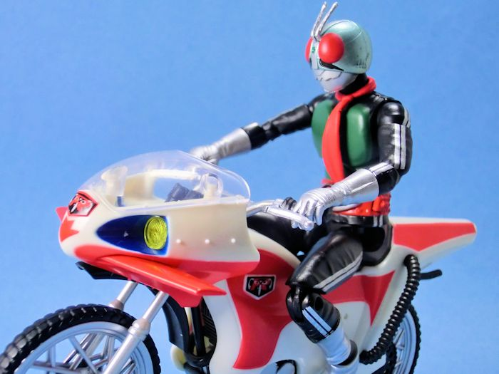 SHODO-X仮面ライダー3・新サイクロン号