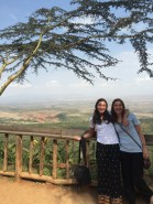 Ariel and Sierra at the Rift Valley