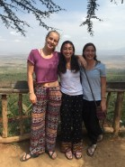 The three girls at the rift valley
