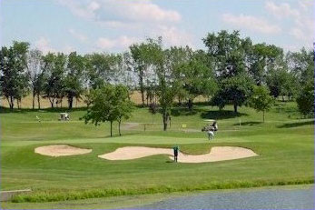 The 17th Hole at Hawk's Nest Golf Course