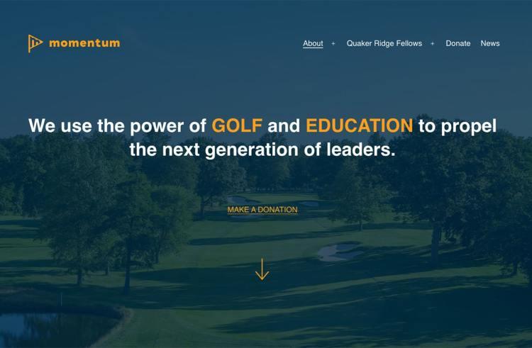 Momentum Golf and Education screenshot