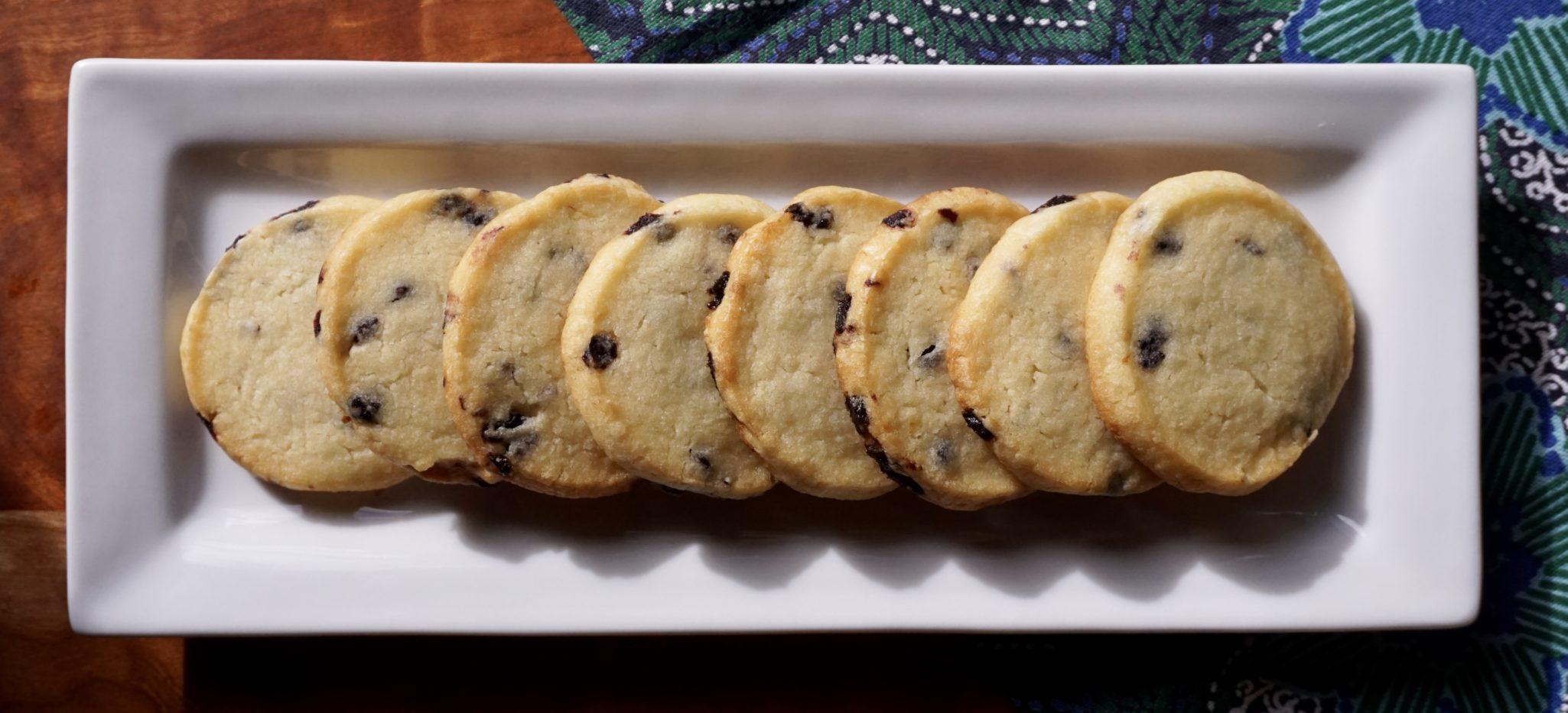 Lemon Cookie Very Pretty & The Cookie Is So Sweet (Blueberry-Lemon Shortbread)