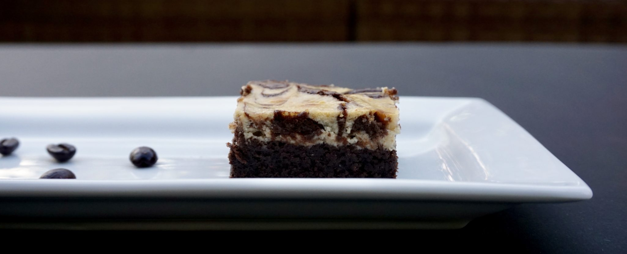 A Tale of Two Cookbooks (Coffee Cheesecake Swirled Brownies)