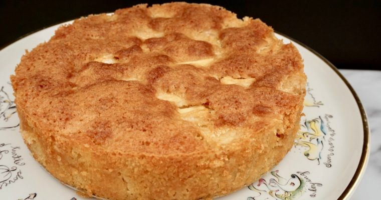 Marie-Helene's Apple Cake (An Apple A Day, Have It In Cake)