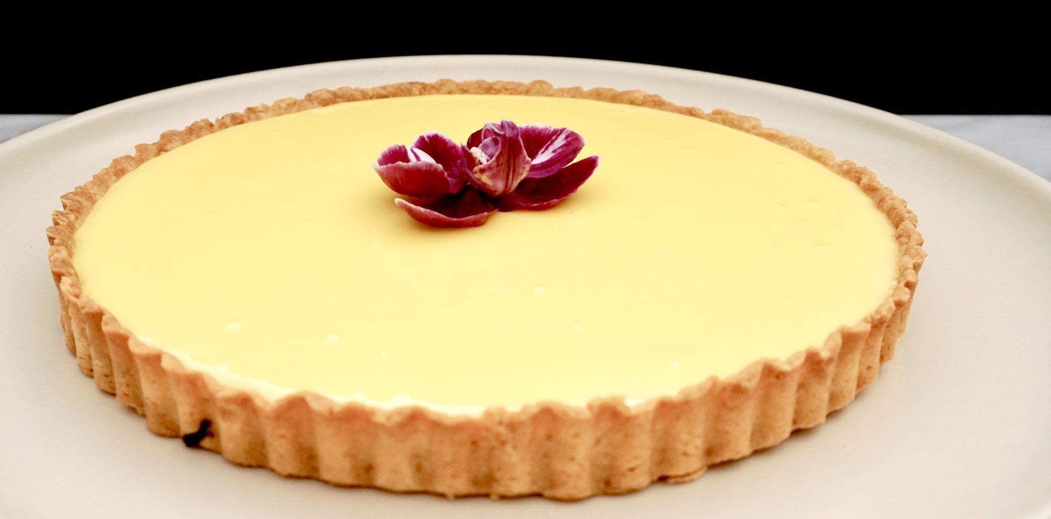 Tartine's Lemon Cream Tart  P-Squared, Pie Perfection