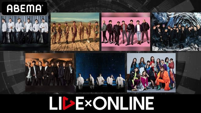 LIVE×ONLINEロゴ