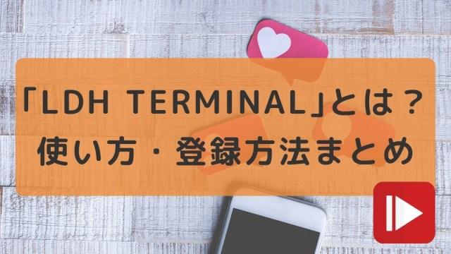 LDHターミナル