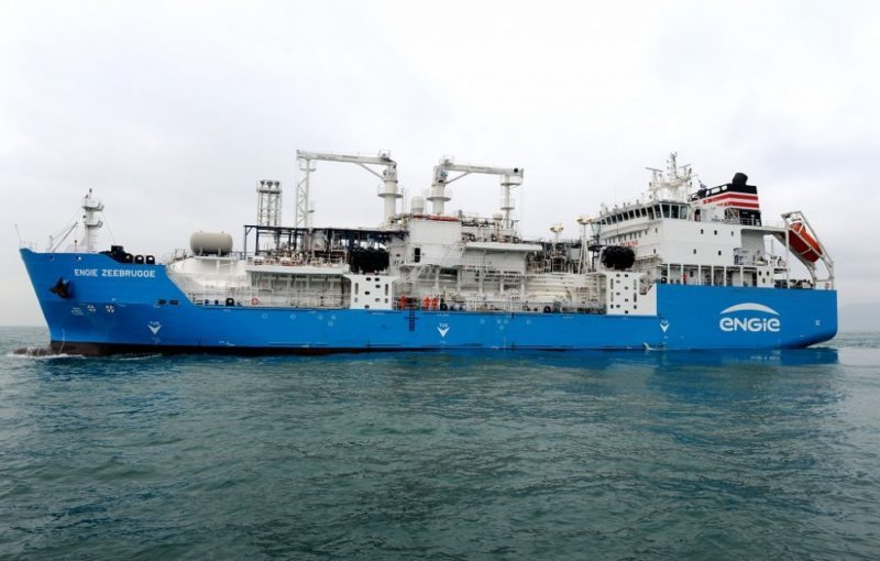 Image result for lng bunkering vessel