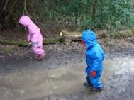We enjoyed the mud!