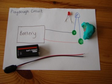 Playdough Circuit Diagram