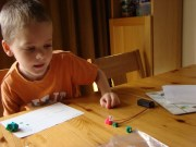 Making playdough circuits 2