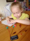 Making playdough circuits 3
