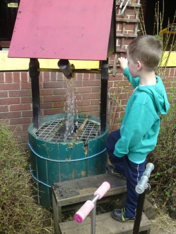 The wishing well at Deen City Farm