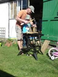 Making a nesting box 5