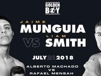 Jaime Munguia vs Liam Smith