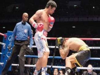 Manny Pacquioa Defeats Lucas Matthysse in 7