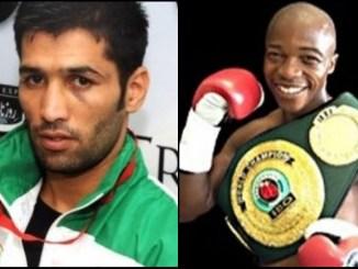 Muhammad Waseem and Moruti Mthalane