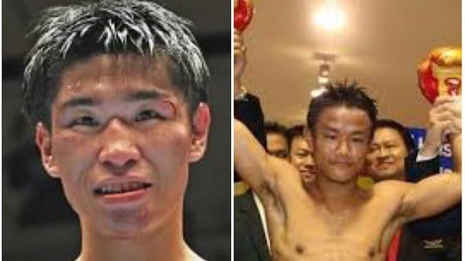 Masayuki Kurado and Komgrich Nantapech