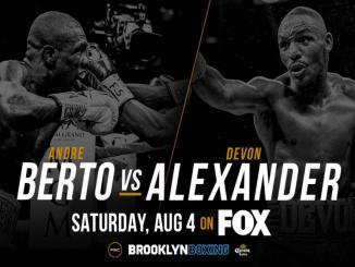 Devon Alexander vs Andre Berto