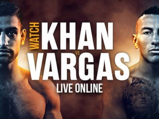 Amir Khan and Samuel Vargas