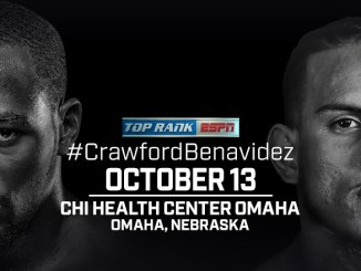 Terence Crawford and Jose Benavidez