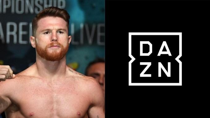 Canelo Alvarez signs with DAZN