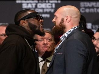 Deontay Wilder vs Tyson Fury Controversy