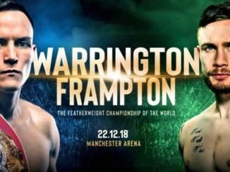Josh Warrington vs Carl Frampton
