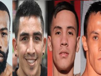 Gary Russel Jr, Leo Santa Cruz, Oscar Valdez, Josh Warrington