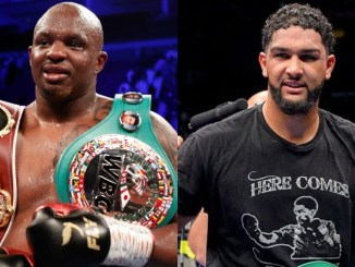 Dillian Whyte and Dominic Breazeale