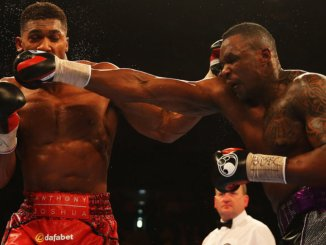Anthony Joshua and Dillian Whyte I
