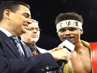 Shakur Stevenson Post Fight Interview